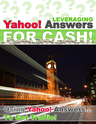 Yahoo! Answers For Cash