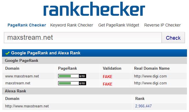 Fake PR